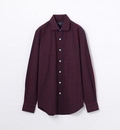 【トゥモローランド/TOMORROWLAND】 コットンシアサッカー ラウンドカラー ドレスシャツ [送料無料]