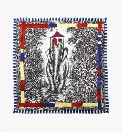 【トゥモローランド/TOMORROWLAND】 mii エレファントモチーフシルクスカーフ [送料無料]