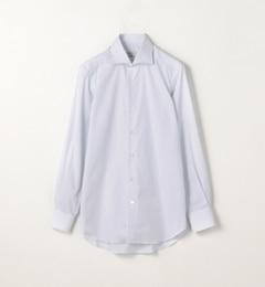 【トゥモローランド/TOMORROWLAND】 120/2コットンストライプ ワイドカラードレスシャツ NEW WIDE-V [送料無料]