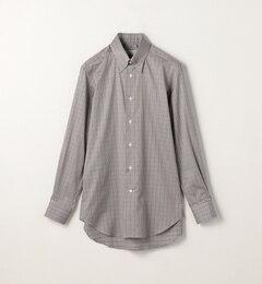 【トゥモローランド/TOMORROWLAND】 120/2コットングレンチェック ピンホールカラードレスシャツ PIN HOLE [送料無料]