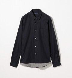 【トゥモローランド/TOMORROWLAND】 80/2コットンネル レギュラーカラーシャツ [送料無料]