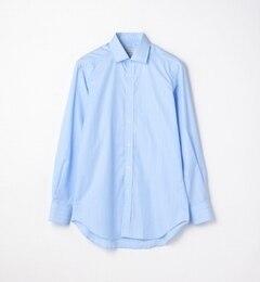 【トゥモローランド/TOMORROWLAND】 120/2コットンピンストライプ ワイドカラードレスシャツ NEW WIDE-5 [送料無料]