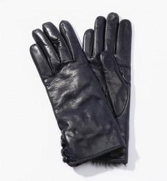 【トゥモローランド/TOMORROWLAND】 Gala Gloves ラビットファーグローブ [送料無料]