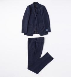 【トゥモローランド/TOMORROWLAND】 Super130'sウールウィンドウペーン 2ボタンスーツ [送料無料]