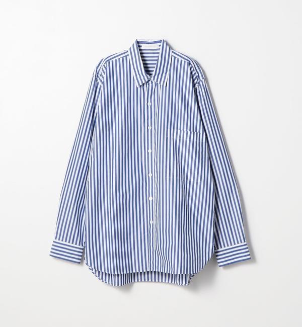 【トゥモローランド/TOMORROWLAND】 126/2コットンブロード レギュラーカラーシャツ