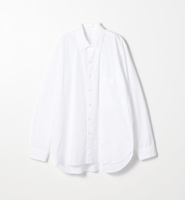 【トゥモローランド/TOMORROWLAND】 160/2コットンブロード レギュラーカラーシャツ
