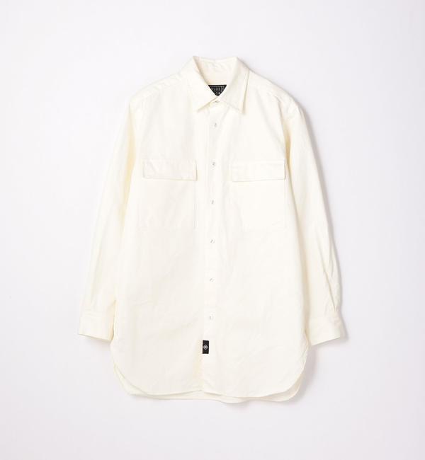 【トゥモローランド/TOMORROWLAND】 100/3コットンオックス ワークシャツ