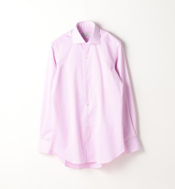 【トゥモローランド/TOMORROWLAND】 120/2コットンピケ ワイドカラー ドレスシャツ NEW WIDE-5 [送料無料]