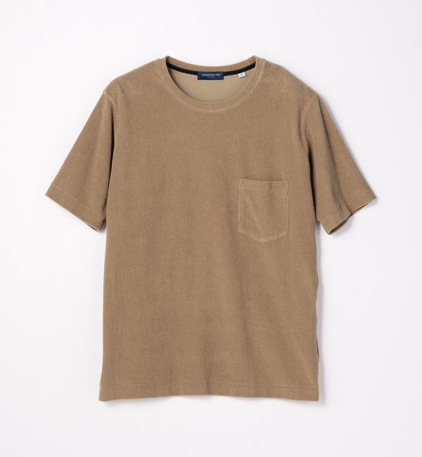 【トゥモローランド/TOMORROWLAND】 1.5mmパイル クルーネックTシャツ