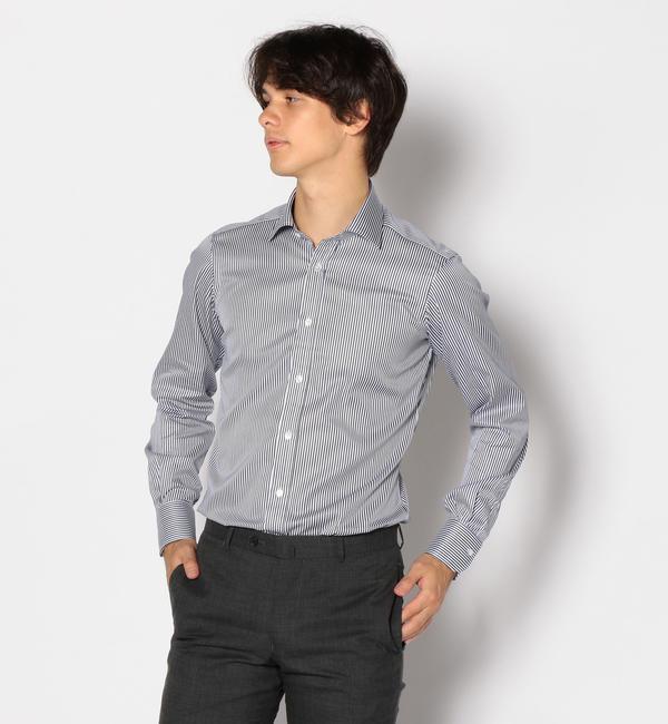 【トゥモローランド/TOMORROWLAND】 120/2コットンツイル ワイドカラー ドレスシャツ NEW WIDE-3