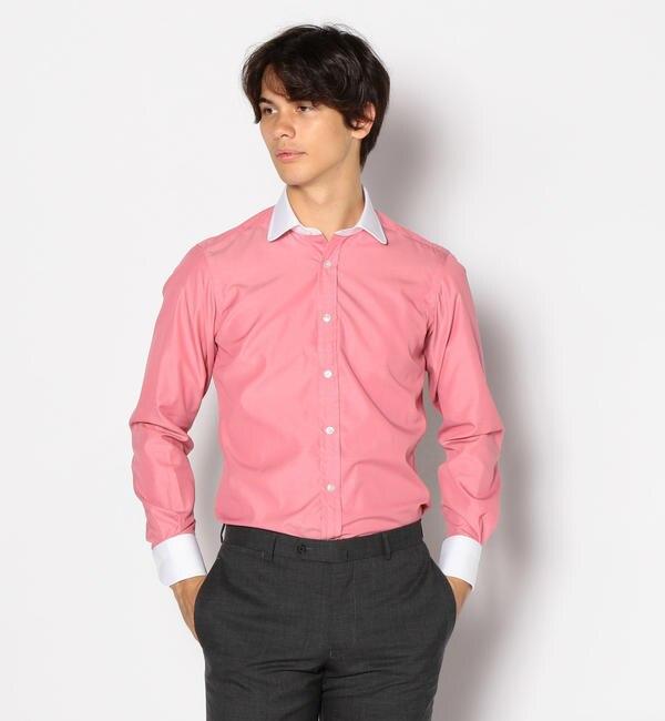 【トゥモローランド/TOMORROWLAND】 120/2コットンブロード ラウンドカラー ドレスシャツ NEW ROUND