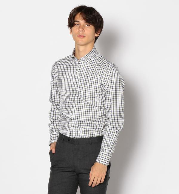 【トゥモローランド/TOMORROWLAND】 120/2コットンフランネル ボタンダウン ドレスシャツ NEW BD-4