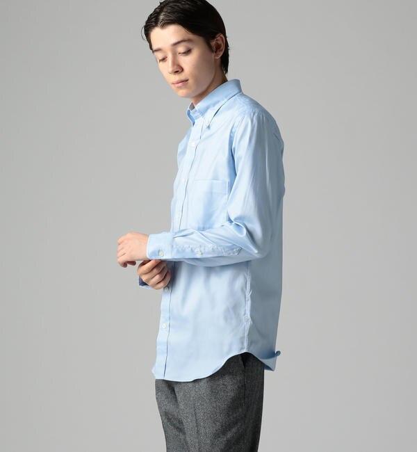 【トゥモローランド/TOMORROWLAND】 【一部店舗限定】コットンピンポイントオックス ボタンダウンシャツ