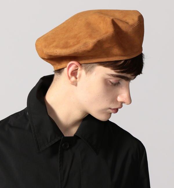 【トゥモローランド/TOMORROWLAND】 【一部店舗限定】【別注】KIJIMA TAKAYUKI×TOMORROWLAND シープヌバック ベレー帽