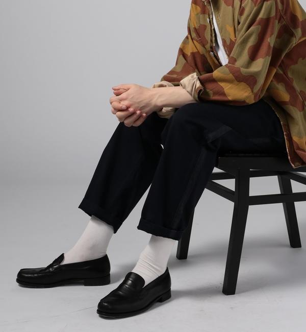 ファッションメンズのイチオシ|【トゥモローランド/TOMORROWLAND】 ブロークンツイル 1プリーツイージーパンツ