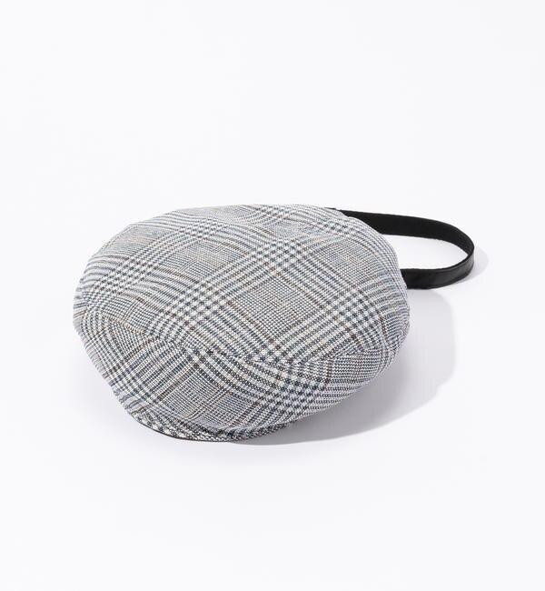 【トゥモローランド/TOMORROWLAND】 La Maison de Lyllis グレンチェックベレー帽