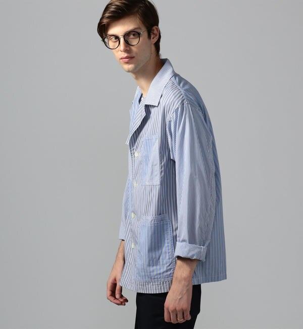 人気ファッションメンズ|【トゥモローランド/TOMORROWLAND】 ブリティッシュポプリン カバーオールジャケット