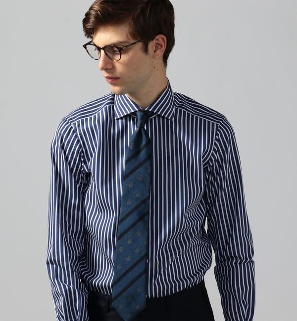 【トゥモローランド/TOMORROWLAND】 120/2コットンブロード ワイドカラー ドレスシャツ NEW WIDE-5