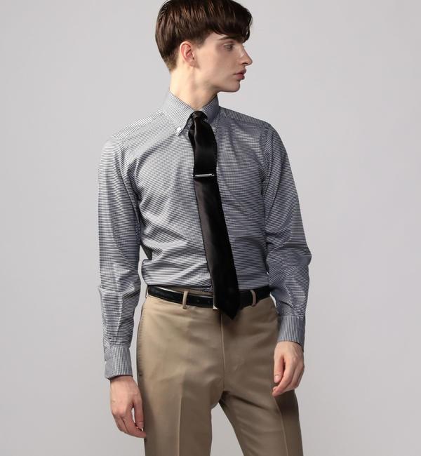【トゥモローランド/TOMORROWLAND】 120/2コットンツイル ボタンダウン ドレスシャツ NEW BD-4