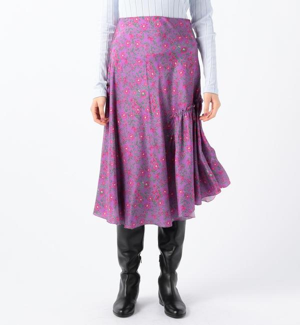 【トゥモローランド/TOMORROWLAND】 APIECE APART NIETO シルク プリントスカート