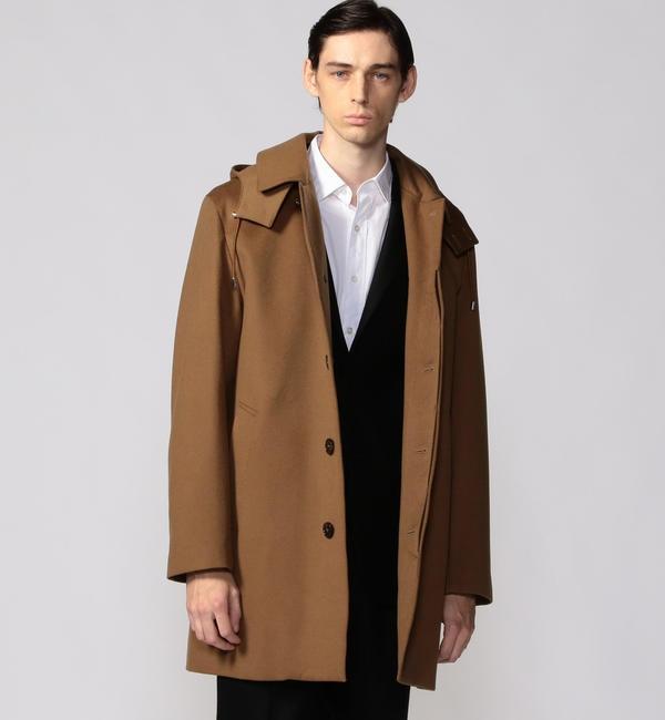 メンズファッションなら|【トゥモローランド/TOMORROWLAND】 MACKINTOSH ストームシステム フーデッドコート DUNOON HOOD