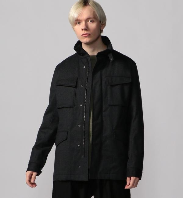 メンズファッションなら|【トゥモローランド/TOMORROWLAND】 ウールフランネルボンディング ミリタリージャケット REDA ACTIVE