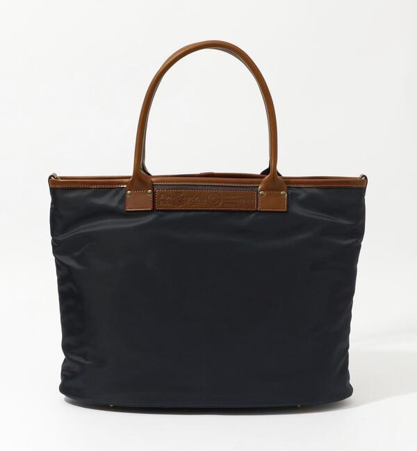 ファッションメンズお薦め 【トゥモローランド/TOMORROWLAND】 Felisi ナイロン×レザー ビジネスバッグ