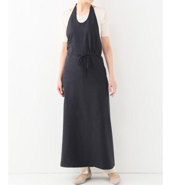 【エミリーウィーク/EMILY WEEK】 BASERANGE Apron Dress Raw Silk