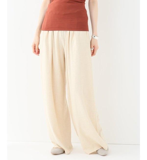【エミリーウィーク/EMILY WEEK】 Cotton/Bamboo イージーパンツ