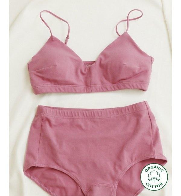 Organic Cotton ブラ for RESET(モーヴ)◆