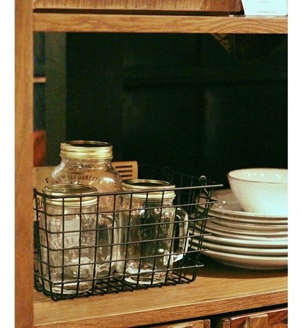 【ジャーナル スタンダード ファニチャー/journal standard Furniture】 Rochester wire basket S bk