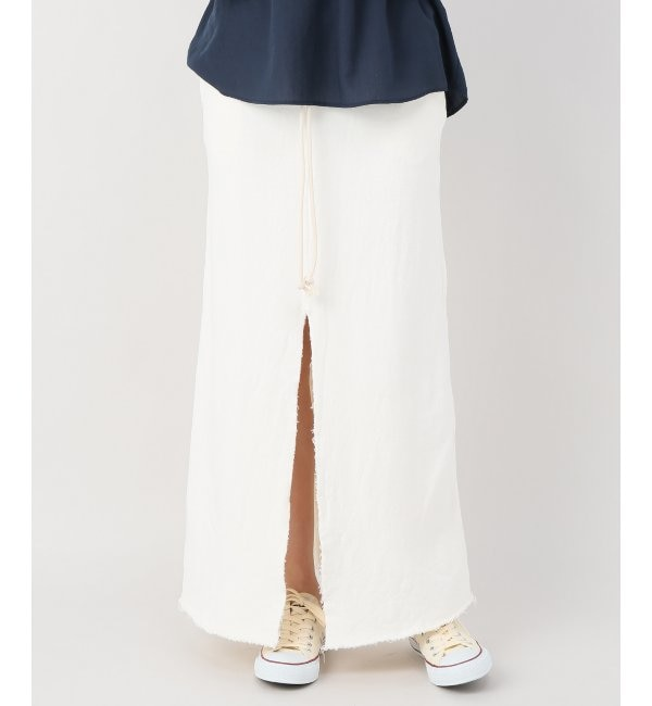 【ジャーナル スタンダード ファニチャー/journal standard Furniture】 AC SWEAT MAXI SKIRT