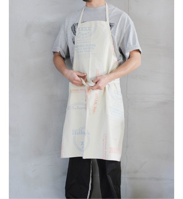 【ジャーナル スタンダード ファニチャー/journal standard Furniture】 ADVERTISING PRINT APRON