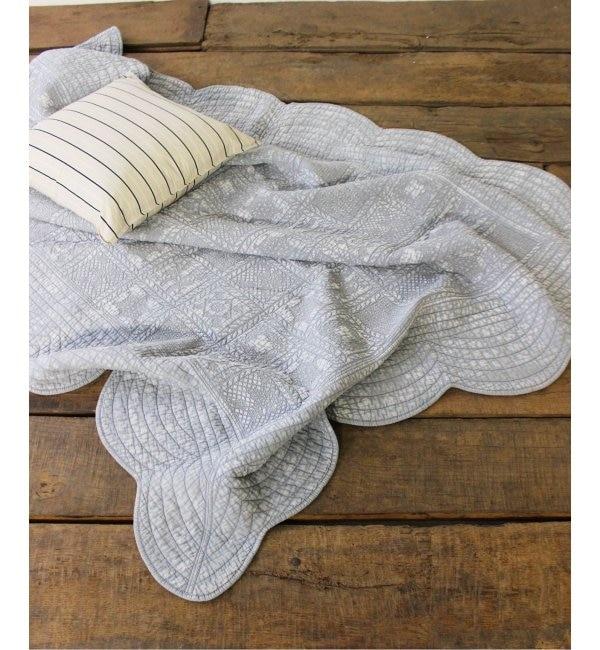 【ジャーナル スタンダード ファニチャー/journal standard Furniture】 Sand Wash Quilting BLANKET FLOWER