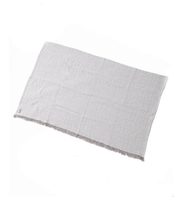 【ジャーナル スタンダード ファニチャー/journal standard Furniture】 linoo Linen STRIPE THROW