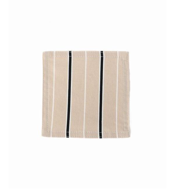 【ジャーナル スタンダード ファニチャー/journal standard Furniture】 STRIPE SHIRT COASTER