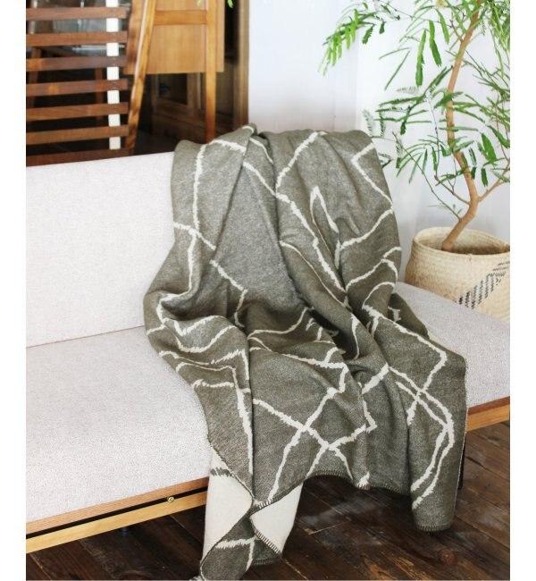 【ジャーナル スタンダード ファニチャー/journal standard Furniture】 BENI WOOLBLANKET