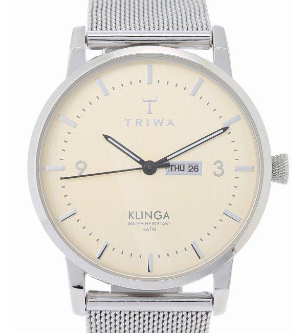 TRIWA KLINGA KLST108【ヒロブ/HIROB レディス, メンズ 腕時計 シルバー ルミネ LUMINE】