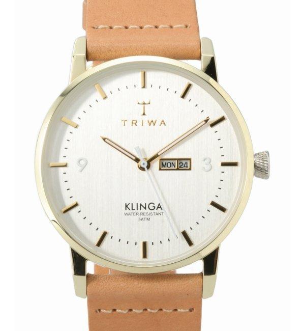 TRIWA KLINGA KLST110-CL010617【ヒロブ/HIROB レディス 腕時計 ゴールド ルミネ LUMINE】