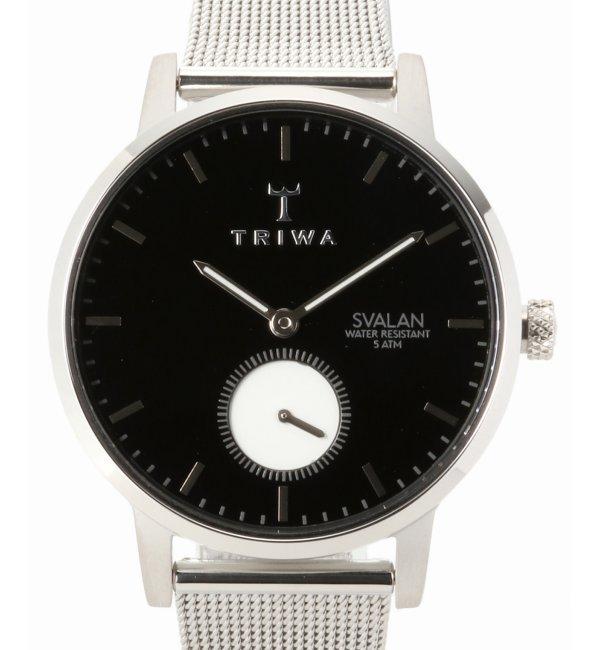 TRIWA SVALAN SVST103-MS121212【ヒロブ/HIROB レディス 腕時計 シルバー ルミネ LUMINE】