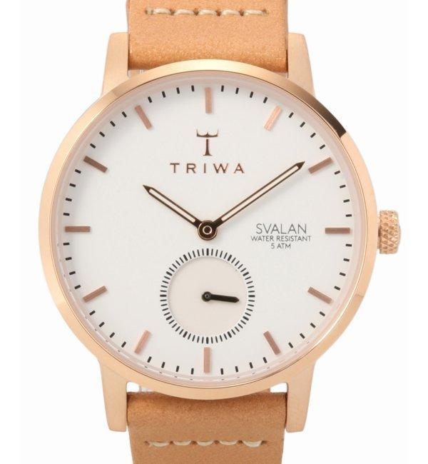 TRIWA SVALAN SVST104-SS010614【ヒロブ/HIROB レディス 腕時計 ピンク ルミネ LUMINE】