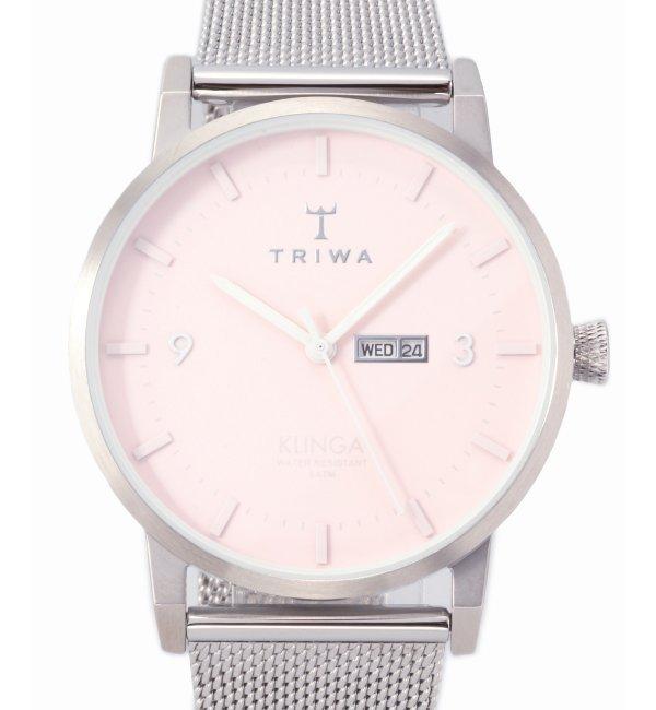 TRIWA KLINGA KLST112-ME021212【ヒロブ/HIROB レディス 腕時計 シルバー ルミネ LUMINE】
