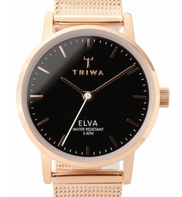 TRIWA ELVA ELST102-EM021414【ヒロブ/HIROB レディス 腕時計 ピンク ルミネ LUMINE】