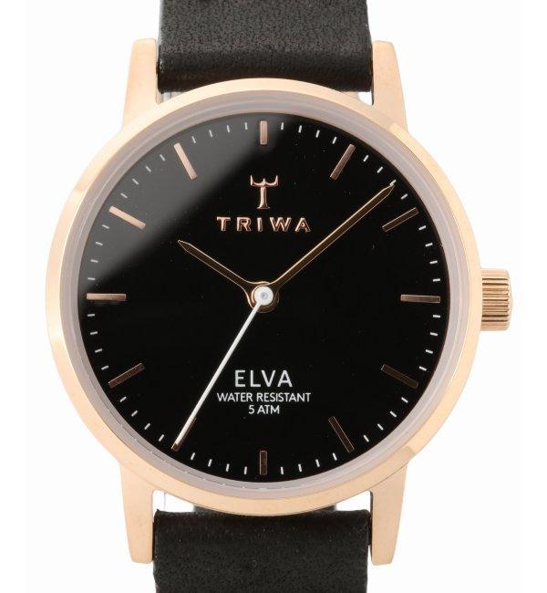 TRIWA ELVA ELST102-EL010114【ヒロブ/HIROB レディス 腕時計 ピンク ルミネ LUMINE】