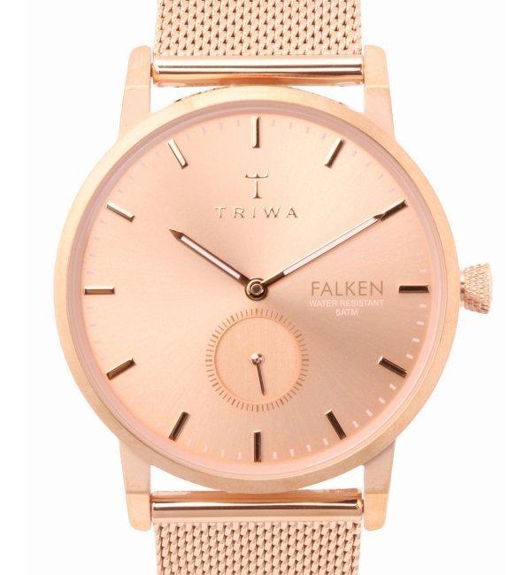 【Japan Limited】TRIWA FALKEN FAST118-ME021414【ヒロブ/HIROB レディス, メンズ 腕時計 ピンク ルミネ LUMINE】