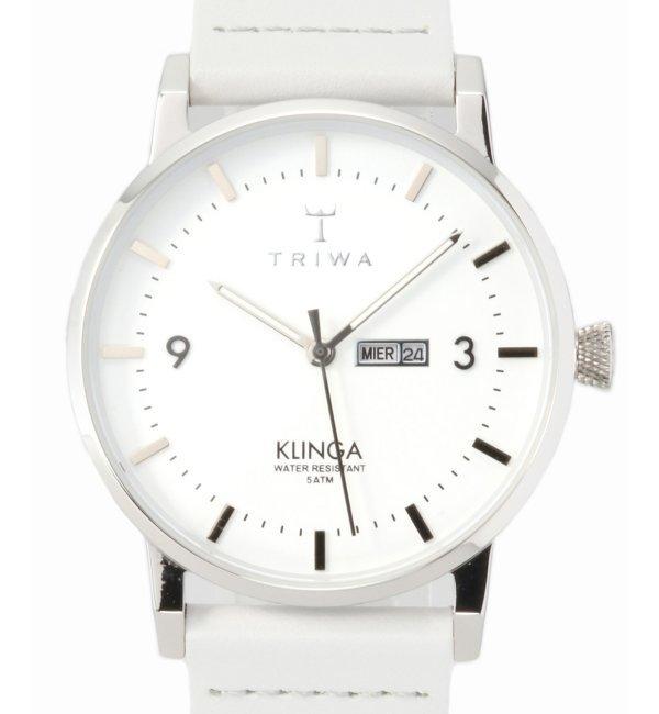 TRIWA KLINGA KLST109-CL111512【ヒロブ/HIROB レディス, メンズ 腕時計 シルバー ルミネ LUMINE】