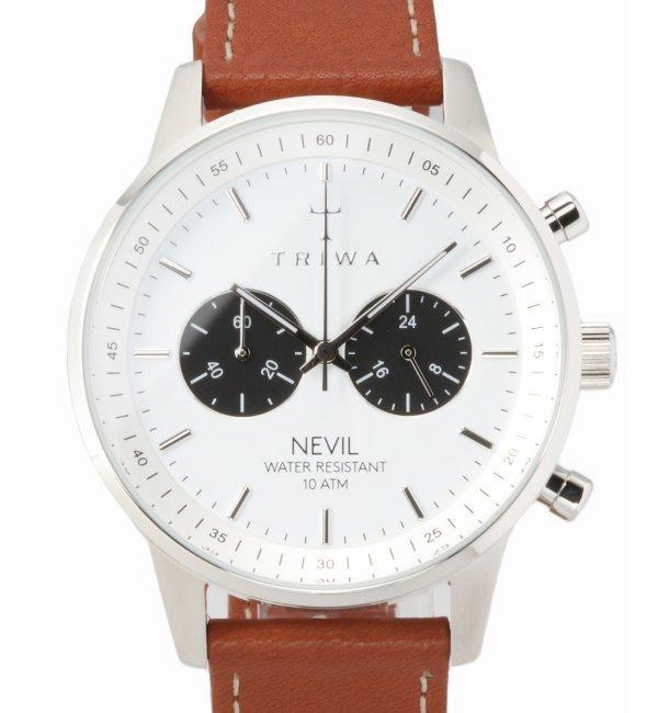 TRIWA NEVIL NEST119-TS010212【ヒロブ/HIROB レディス, メンズ 腕時計 シルバー ルミネ LUMINE】