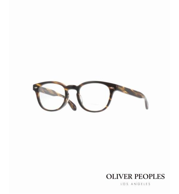 モテ系メンズファッション 【ヒロブ/HIROB】 Oliver Peoples SHELDRAKE (A) BR◆