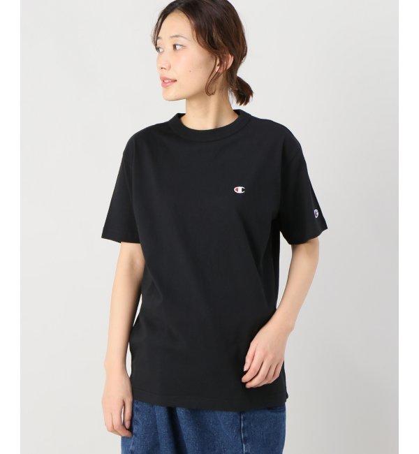 champion【ジョイントワークス/JOINT WORKS レディス Tシャツ・カットソー ブラック ルミネ LUMINE】