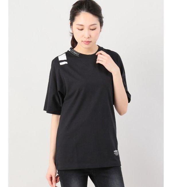 adidas heri nmd tee【ジョイントワークス/JOINT WORKS レディス Tシャツ・カットソー ブラック ルミネ LUMINE】